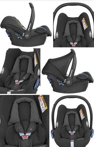 Maxi-Cosi Cabriofix, silla de coche grupo 0+negro
