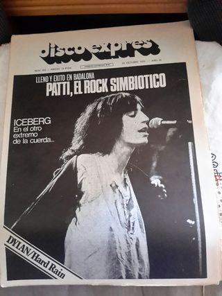 Revista disco Exprés n398 de 1976
