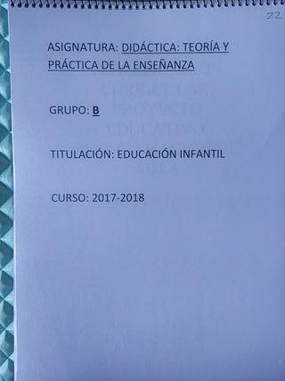 Libro didáctica educación infantil UGR