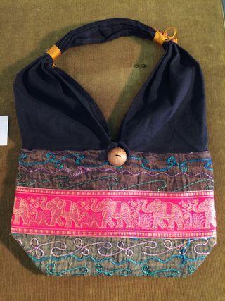 Bolsa INDIA estilo hippie de una bolsa solo