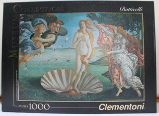 """Puzzle 1.000 piezas """"El nacimiento de Venus""""."""