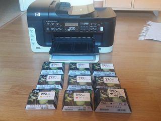 Impresora Fotocopiadora HP Officejet 6500 wireless
