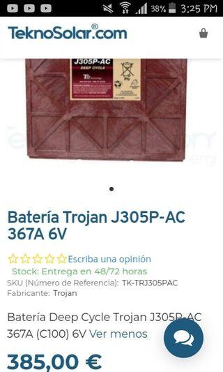 Batería Trojan