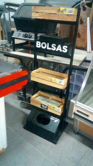 estanteria para bolsas etcra