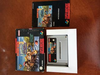 donkey kong country 3 snes