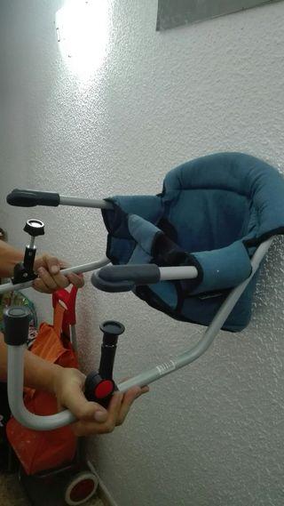silla para mesa para tu bebé, mesa, niño, bebe, se