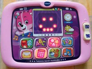 Tablet Rosa para bebes marca Vtech
