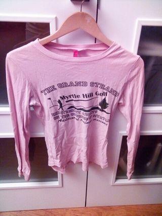8205a2345eae4 Camisetas manga larga mujer de segunda mano en Zaragoza en WALLAPOP