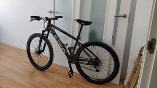 mtb bicicleta btwin rockrider