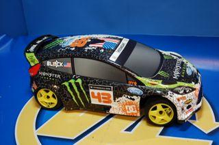 coche radicontrol sin uso-hpi racing wr8 ken block