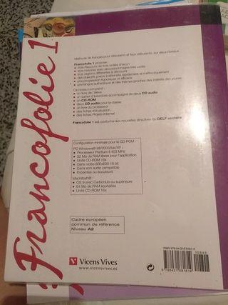 libro y cuadernillo Frances