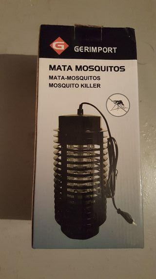 camping lámpara mata mosquitos marca gerimport