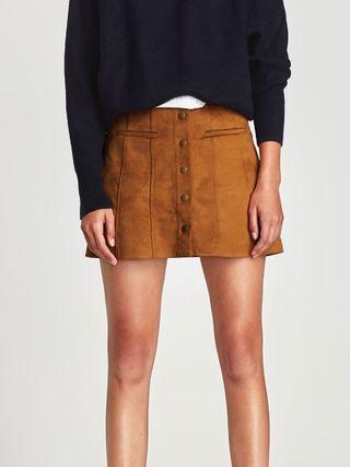 Zara Antelina Falda Mini Mini Falda Z8qx6nfIpw