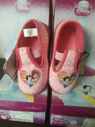 Zapatillas Princesas Disney