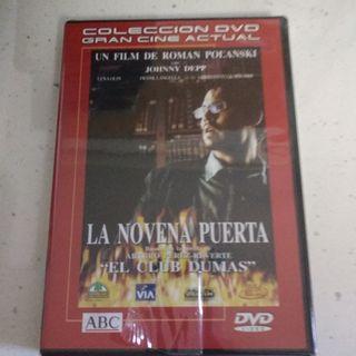 Película DVD La novena puerta