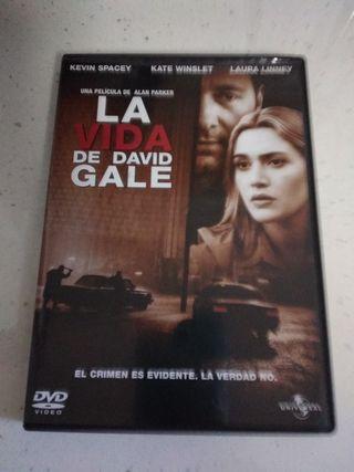 Película DVD La vida de David Gale