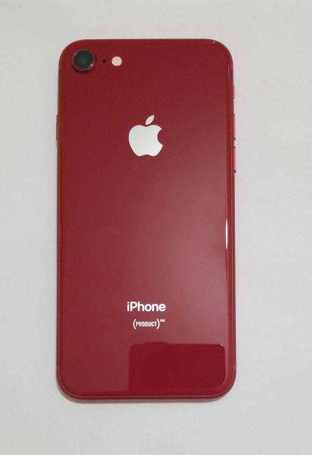 iphone 8 rojo