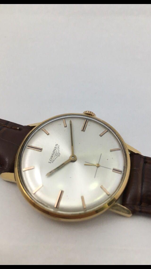Reloj Longines Oro 18kt. Caballero.
