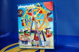 Playmobil Parque de Atracciones - Noria con luces