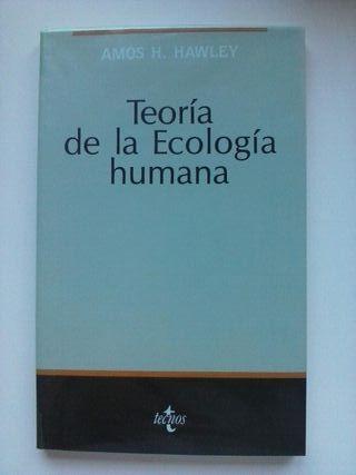 """Libro """"Teoría de la Ecología humana"""""""