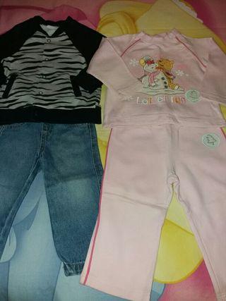 Lote de ropa talla 18 -24 meses