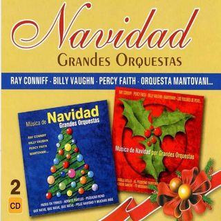 CD DOBLE NAVIDAD VILLANCICOS GRANDES ORQUESTAS