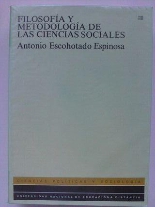 """Libro """"Filosofía y metodología..."""""""