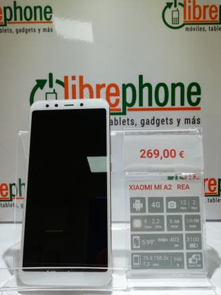 Xiaomi Mi A2 Gold 6/128GB