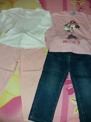 Lote de ropa talla 18-24 meses