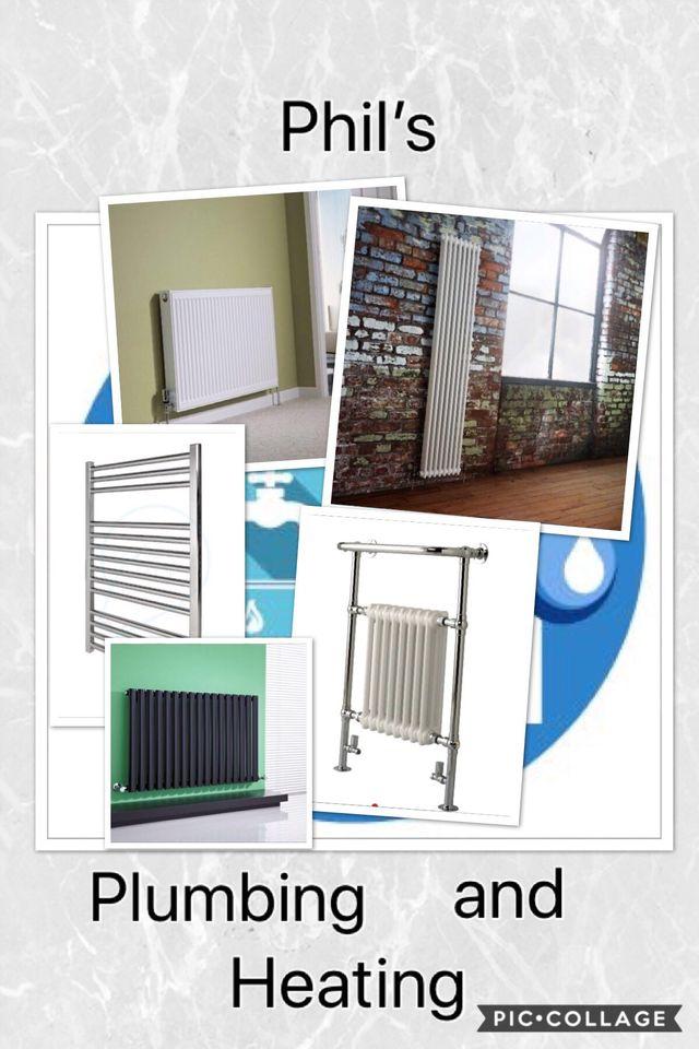 Plumber, plumbing services, radiator, bathroom