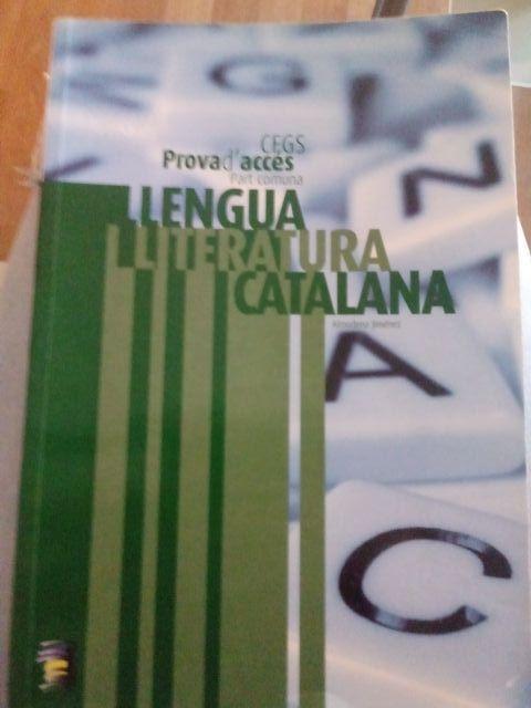 Libro CPIGS/CAS llengua i literatura catalana