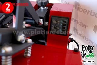 Prensa termica ECO38 Plus sublimacion vinilo trans