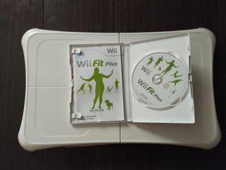 Wii fit plus con tabla wii fit