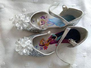 Zapatos de princesa Frozen