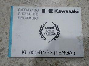 Catalogo piezas Kawasaki KZ 650 B1/B2 Tengai
