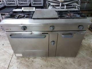 Plancha de cocina a gas de segunda mano en wallapop - Cocinas industriales de segunda mano ...
