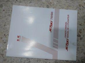 Manual utilización Kawasaki Jet Ski 750 SXi