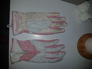 guantes de moto mujer piel