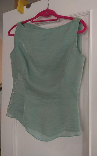 Fiesta blusa y falda dos piezas 42 verde