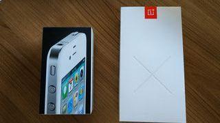 iphone 4 y oneplus x