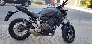 Moto Yamaha MT-07 con ABS