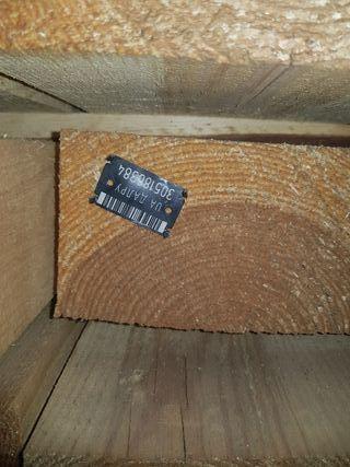 material de pino, precio por metro cúbico