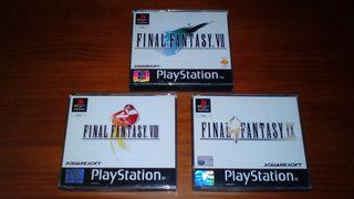 Trilogía Final Fantasy PSX (Playstation)