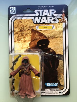 Star wars 40th kenner figura Jawa