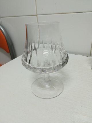 6 copas antiguas brandy coñac