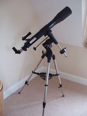 Telescopio de 175 aumentos.
