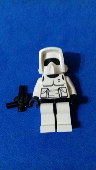 lego star wars original Soldado Explorador