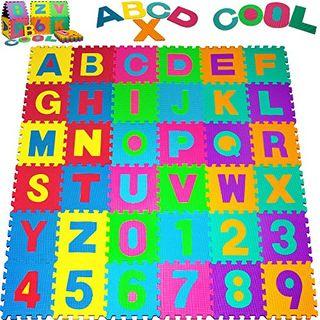 Alfombra puzzle de 36 Piezas Gomaespuma EVA