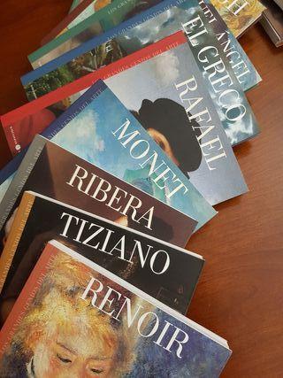 """Colección libros """"Los grandes genios del arte"""""""