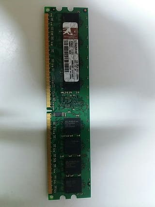 Módulo de Ram Kingston 1GB 2Rx8 PC2-4200U-444-12